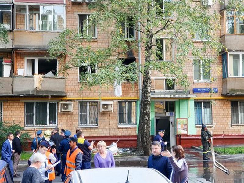 Хлопок газа произошел на северо-востоке Москвы